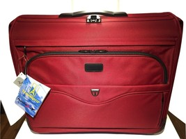 ⭐️Travel pro Crew Flight Pro 2  Red Expandable 44 X 22 Rolling Suitcase ... - $129.95
