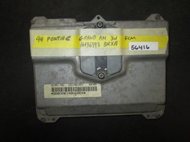 94 PONTIAC GRAND AM 3.1 ECM #16196397 BKXA *See item description* - $14.85