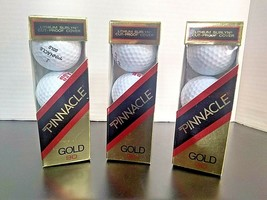 Pinnacle Golf Balls Gold 90 Lithium Surlyn Cut Proof Cover Lot & Pack of... - $9.26