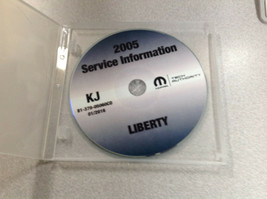 2005 Jeep Liberty Service Reparatur Shop Werkstatt Manuell CD DVD OEM We... - $197.99