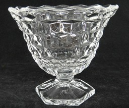 """Fostoria American Clear Glass Footed Mayo Mayonnaise Bowl 4.5"""" Gorgeous - $21.62"""