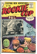ROOKIE COP #27 1955-CHARLTON-1ST ISSUE-CRIME-fn/vf - $55.87