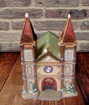 Galleria, Inc. XPH-55  Christmas Village Church  with box - $18.46