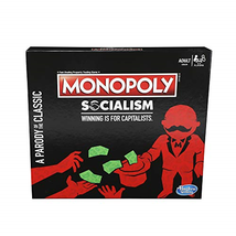 Hasbro Monopoly Socialism Board Game Parody Adult Party NEW Sealed Free Shipping - $21.77