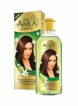 3 Pack Dabur AMLA JASMINE HAIR OIL 200ml Ayurvedic SILKY STRONG HEALTHY - $24.23
