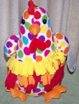 "Melissa & Doug DOTTY CHICKEN Plush 14""H NWT - $16.50"