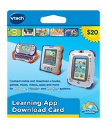 NEW! VTech Learning Application Download Card-InnoTab, MobiGo, and V.Read! - $9.89