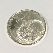 Sterling Silver Christ In The Storm On The Sea Of Galilee Rembrandt Coin - $150.00