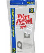Dirt Devil Hand Vac Style G Paper Vacuum Bags ,10 Per Pack - $14.09