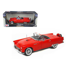 1956 Ford Thunderbird Red 1/18 Diecast Model Car by Motormax - $54.94