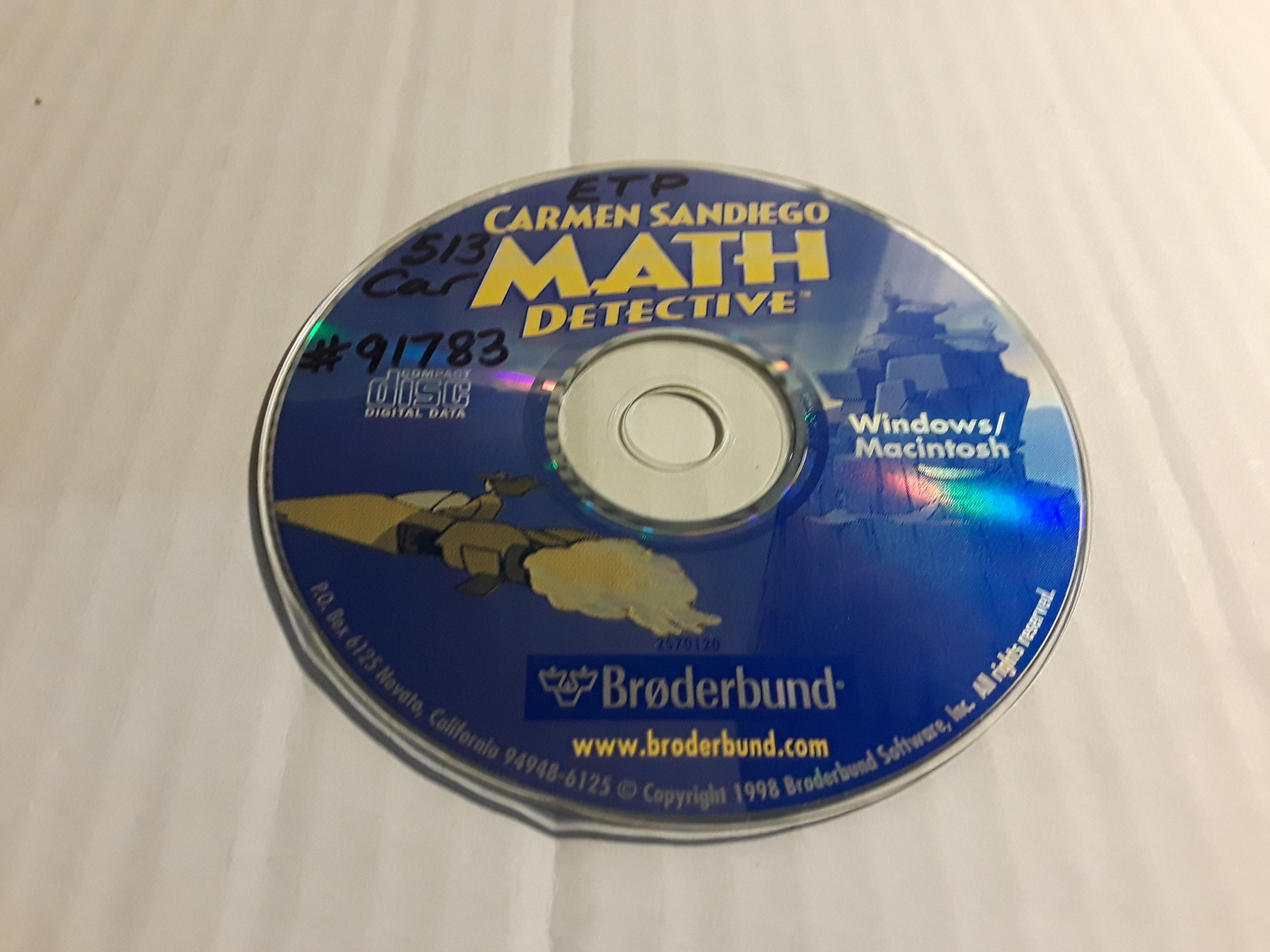 Primary image for CARMEN SANDIEGO MATH DETECTIVE CD