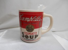 Old Vtg CAMPBELLS TOMATO SOUP Pottery MUG Cup Made USA ADVERTISING - $19.79