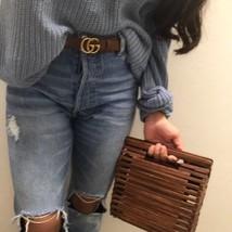 BNWT ZARA Mini Wood Tote Bag REF.4844/204 - $77.59
