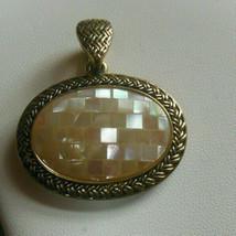 Lia Sophia Athena Mother-of-Pearl Gold-tone Pendant - $18.50