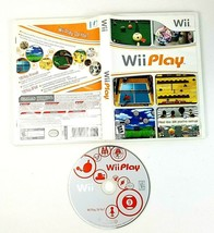 WII PLAY For Nintendo WII Complete Tested Game Disc Manual Case - $7.43
