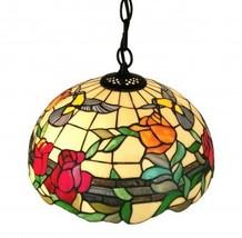 Amora Lighting Tiffany Style AM227HL16 Floral H... - $135.95