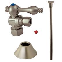 Trimscape CC43108TKF20 Traditional Plumbing Toilet Trim Kit, Satin Nickel - $45.68