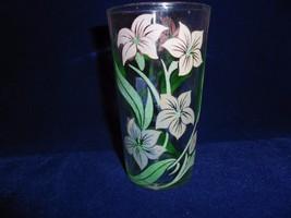 "Pink & Lavender Flowers with Green leaves 4.75"" Swanky Swig - $4.90"