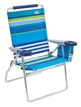 """Rio Beach 17"""" Extended Height 4 Position Folding Beach Chair - $68.01"""