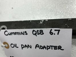 Genuine Cummins OIL PAN ADAPTER 4938655 OEM image 2