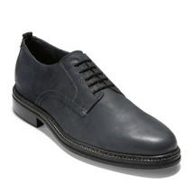 Cole Haan Men's Frankland Grand Plain Toe Oxford Leather Shoe Navy Ink - $74.12
