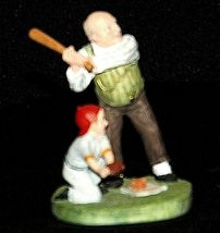 """""""Gramps at the Plate"""" by Norman Rockwell Figurine AA19-1664 Vintage image 7"""