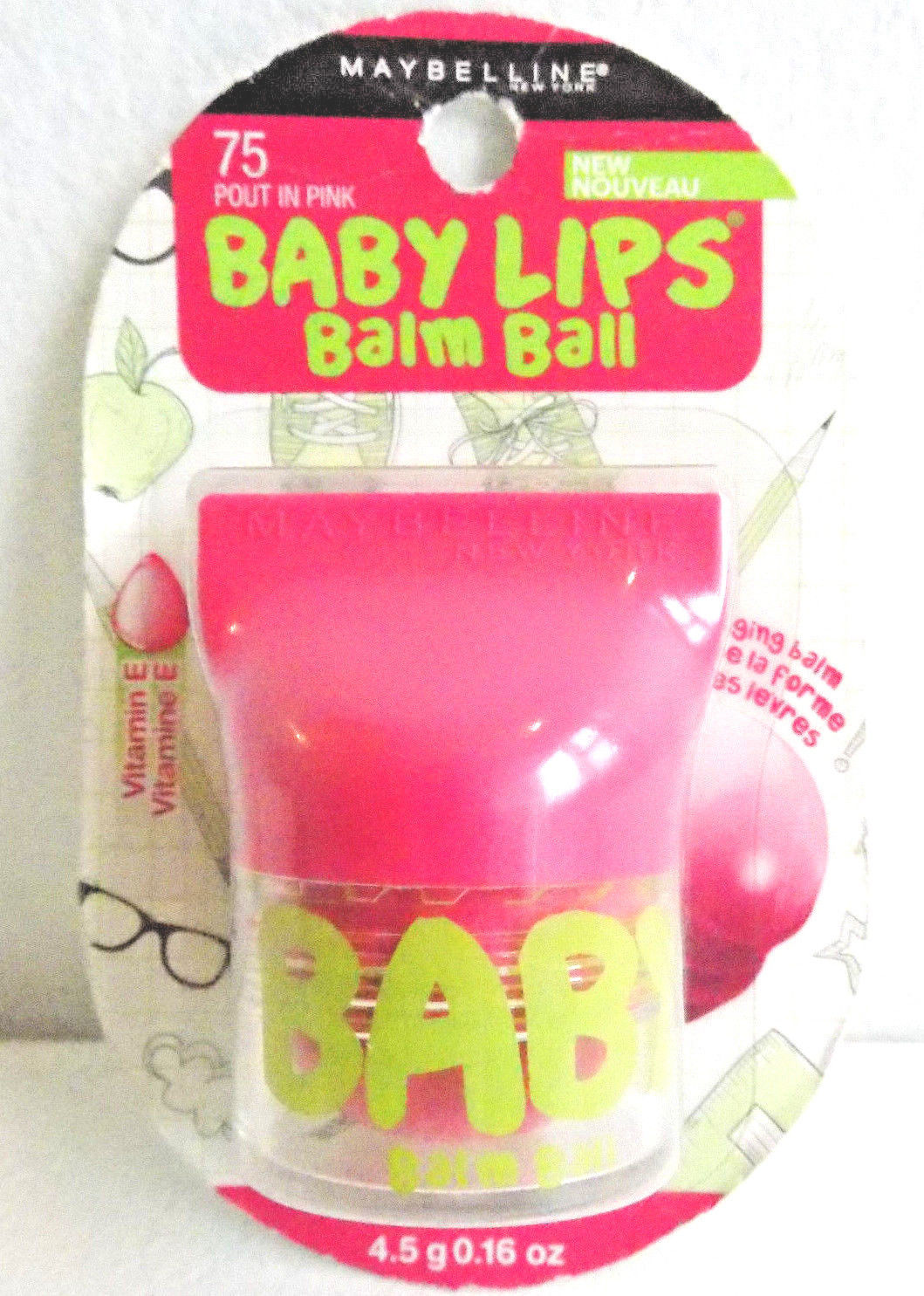 Maybelline Baby Lips Balm Ball Pout in Pink #75