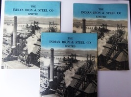 Unique collection of Photographic albums, & pamphlets from Burn & Compan... - $575.00