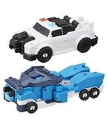 Transformers Robots in Disguise Crash Optimus Prime & Strongarm Action F... - $199.95