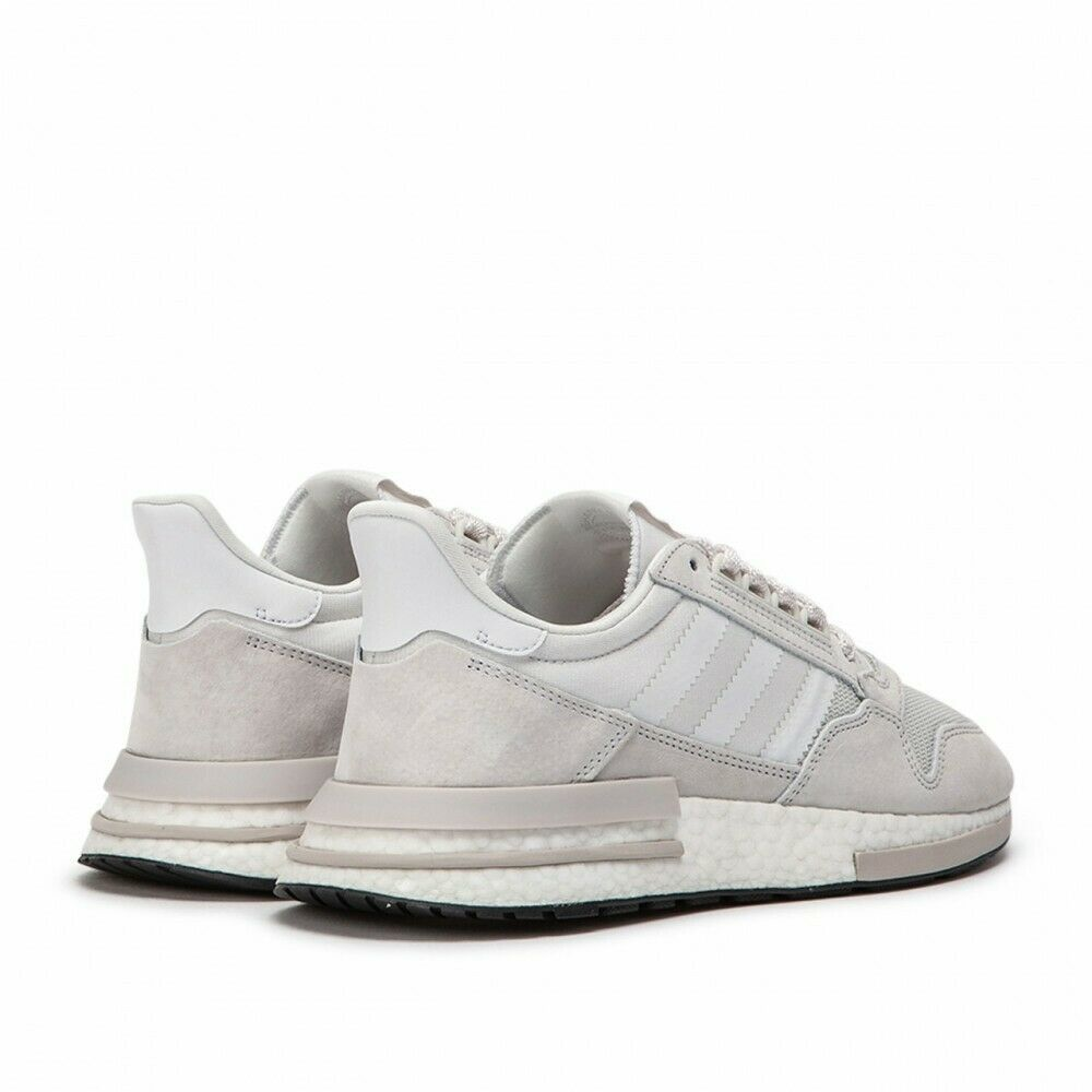 Adidas Originals ZX 500 RM Boost Mens Running Shoes Cloud White Gray B42226 image 4