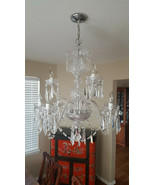 Waterford Crystal Chandelier 9-Arm Cranmore Ceiling 9-Light Ireland Vint... - $4,455.00