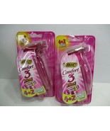 2 BIC Comfort 3 Pivot Razors 12 Total Berry Scent  - $12.99