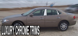 Buick LaCrosse Stainless Steel Chrome Pillar Posts by Luxury Trims 2005-2009 8pc - $82.96
