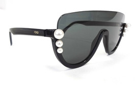FENDI Women's Sunglasses FF0296/S 807 Black 140 MADE IN ITALY - New! - $245.00