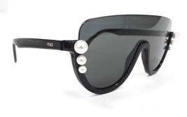 FENDI Women's Sunglasses FF0296/S 807 Black 140 MADE IN ITALY - New! - $245.00