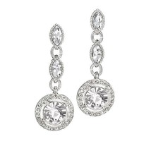 Avon Classic Sparkle Drop Earrings - $16.83