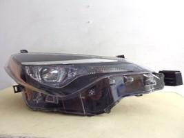 2017 Toyota Corolla Rh Passenger Single Projector Led Headlight Oem 515 - $533.50