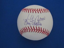 Graig Nettles Jeff Wsc Yankees Father & Son Combo Signed Auto Baseball Jsa - $89.09