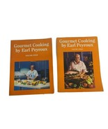 2 Vintage Gourmet Cooking By Earl Peyroux Volume 3 And 4 Cookbooks - $12.24