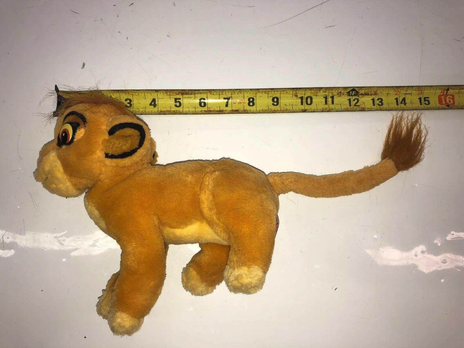 Applause Lion King Simba Cub Plush Disney Stuffed Animal beanbag Item 41716