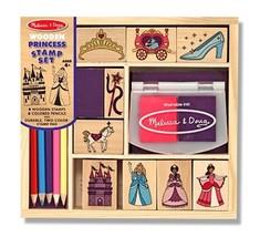 Wooden Princess Stamp Set: Arts & Crafts - Stamps - $62.60