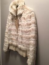 Juicy Couture Short Fur Bomber Jacket - $301.64