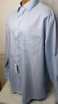 Tasso Elba Men's Regular Fit Non Iron Button Down Shirt Color: L Blue Si... - $26.72