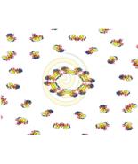 Kaleidoscope Background 66a-Digital ClipArt-Halloween-Gift Tag-Tshirt-Sc... - $3.99