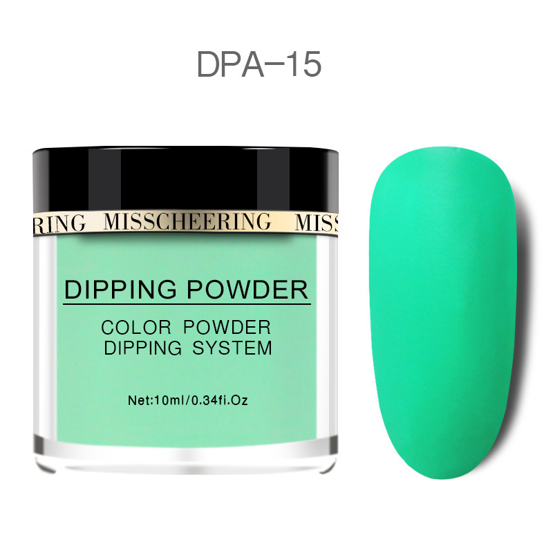 Matte Color Manicure Powder Nail Dipping Powder Nail Art Decorations  15