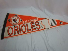 "VTG Baltimore Orioles Felt Pennant Official Licensed Wincraft 12"" x 29.5"" - $28.49"