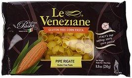 Le Veneziane Italian Gluten Free Corn Pasta Pipe Rigate 250 - $16.02