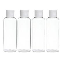 4pcs Portable Plastic Facial Toner Liquid Refillable Bottles 100ml Trans... - $18.47