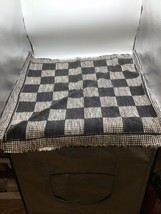 "Jumbo Checker Rug Carpet Board | Replacement for 3-1 Checkers Game | 26""... - $12.86"