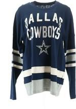 NFL Dallas Men's Retro Long-Sleeve Football Jersey Cowboys S NEW A369406 - $22.75